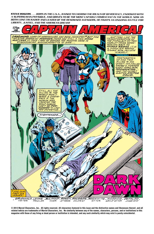 Captain America (1968) Issue #408 #357 - English 2