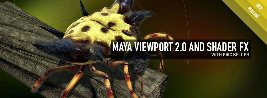 Maya Viewport 2.0 And Sahder FX