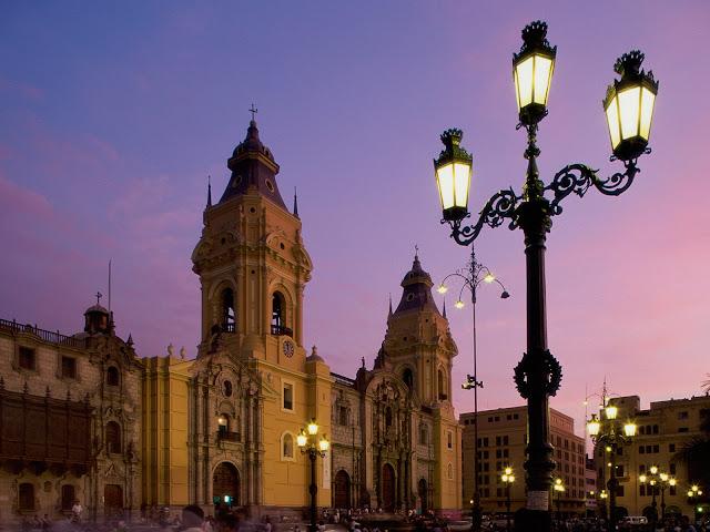 Catedral de la Plaza de Armas, Lima, Perú