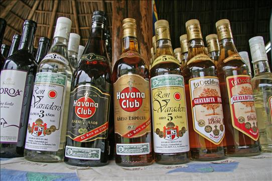 Country that Drinks the Most Rum - Cuba