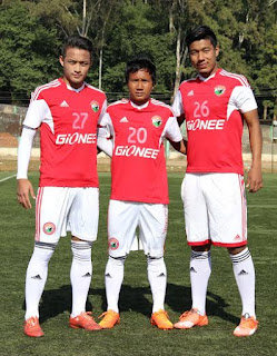 Shillong Lajong FC sign three Youngsters