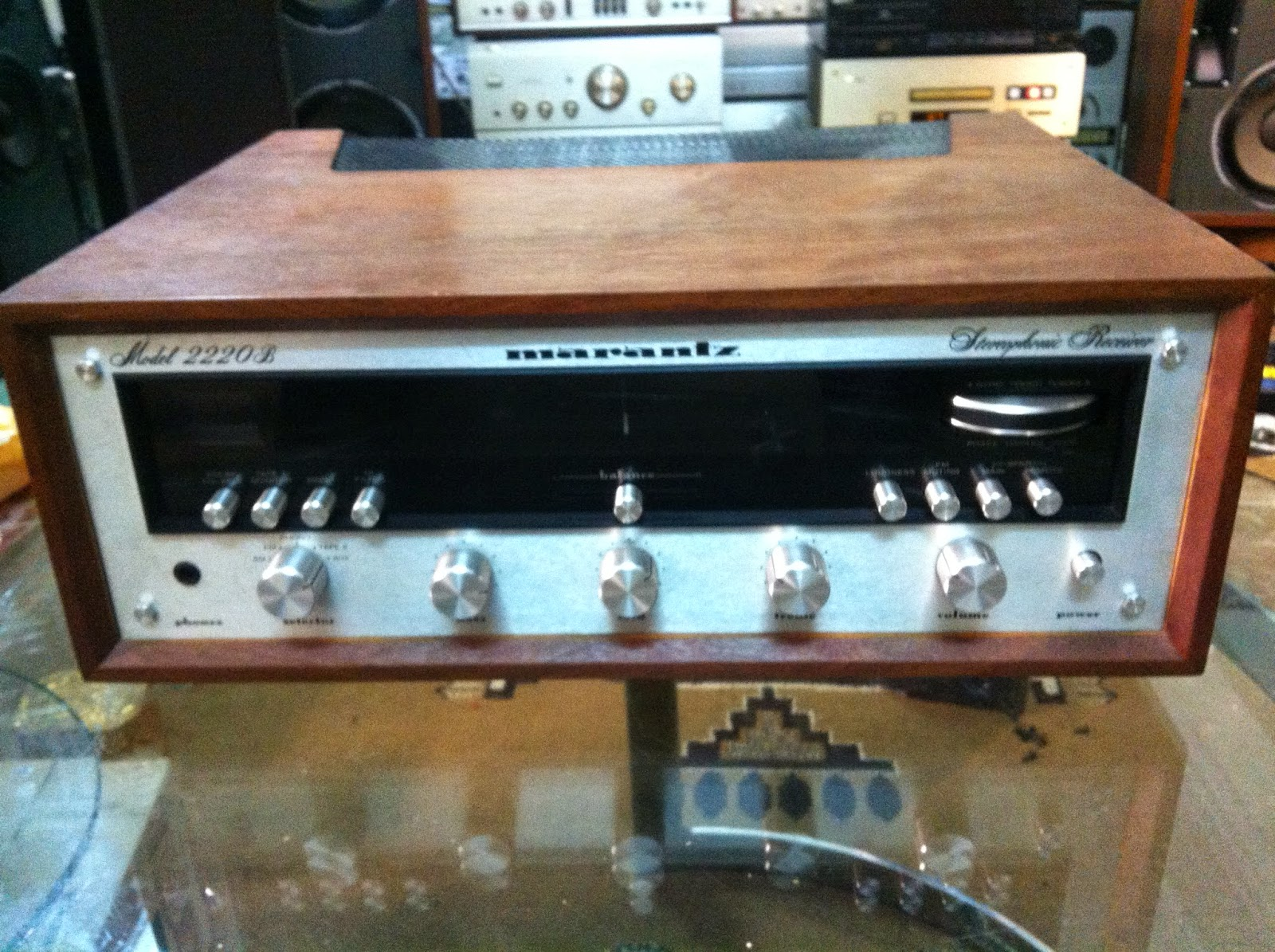 Amply Marantz 2220 - Made in Japan