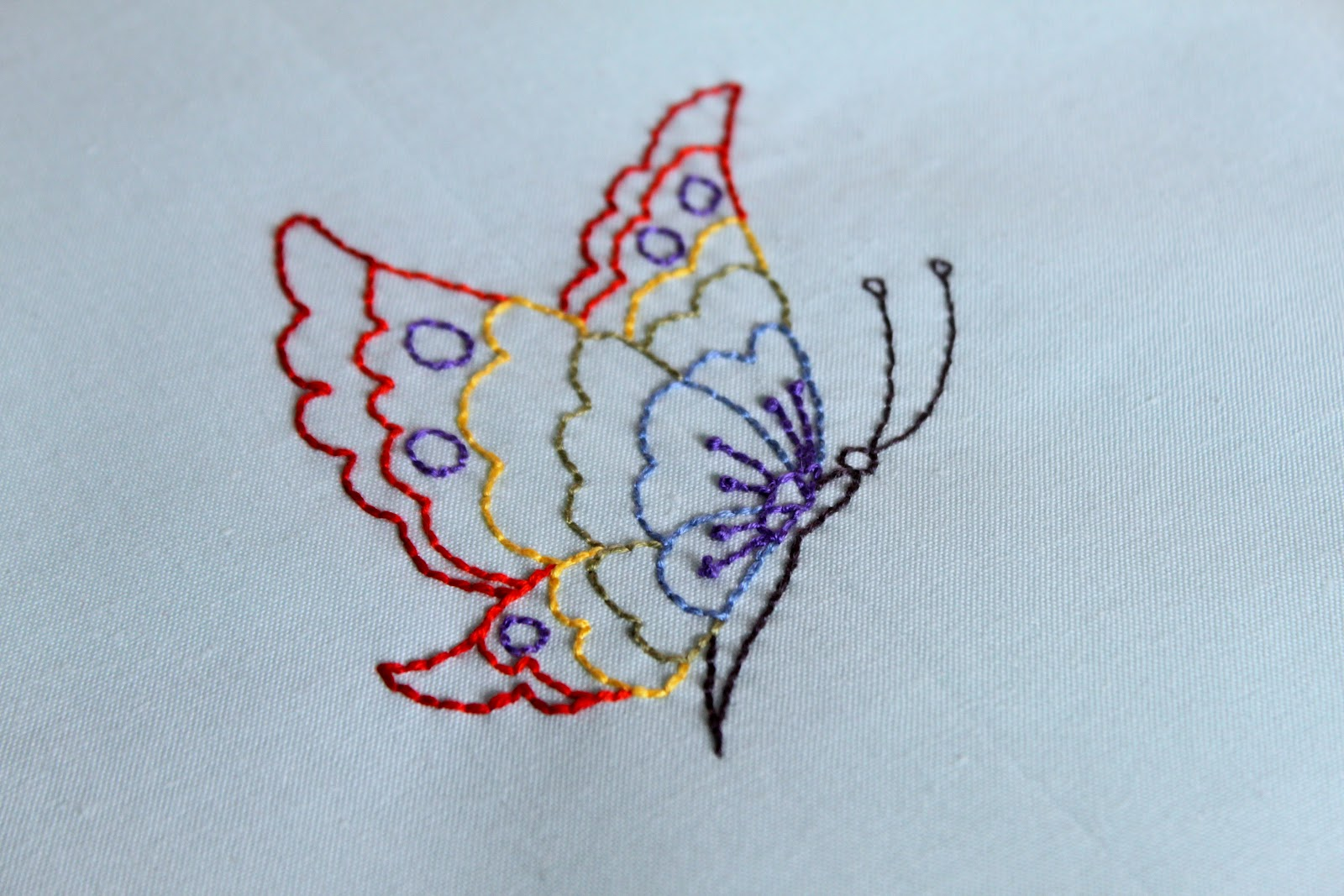 Running Stitch Simple Embroidery Designs