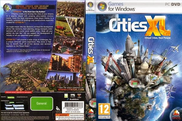Download Cities XXL PC FULL Cities XL Front Cover 17373