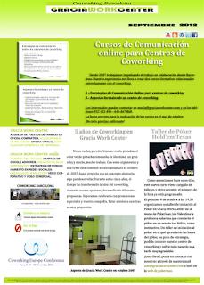 newsletter GWC septiembre 2012 - talleres formativos