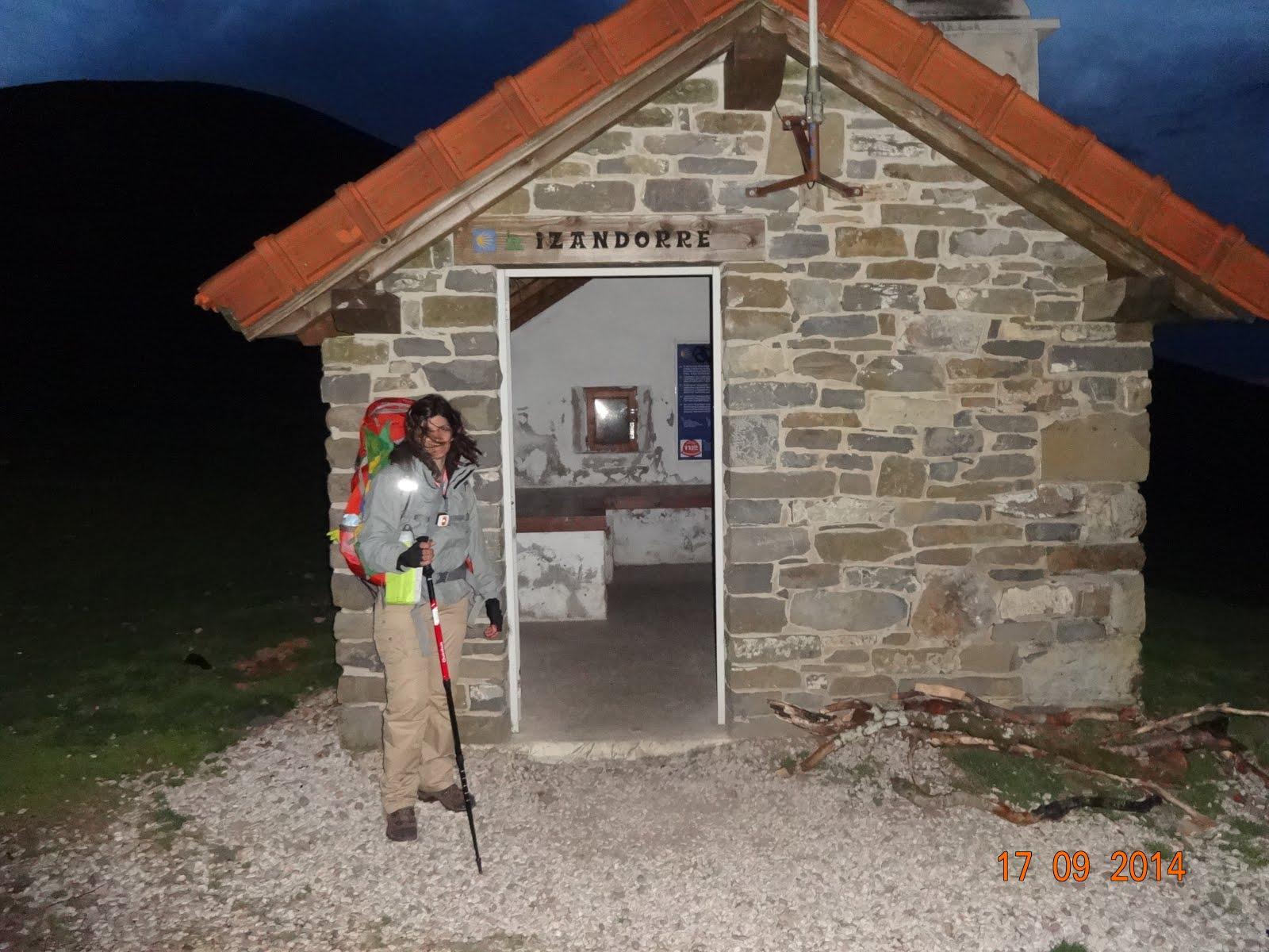 Noite nos Pirineus...