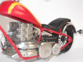 Decoração bar motos