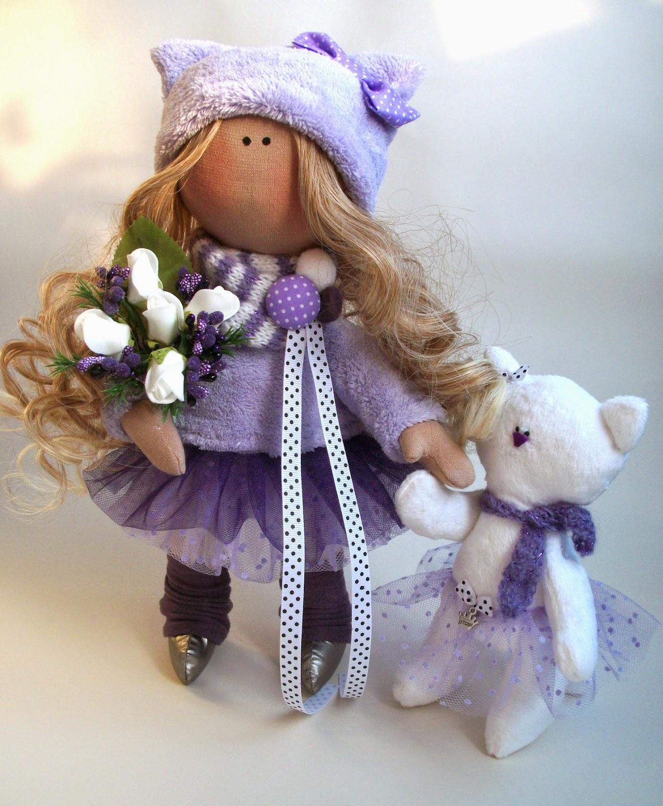 кукла ручной работы, Алехина Лина