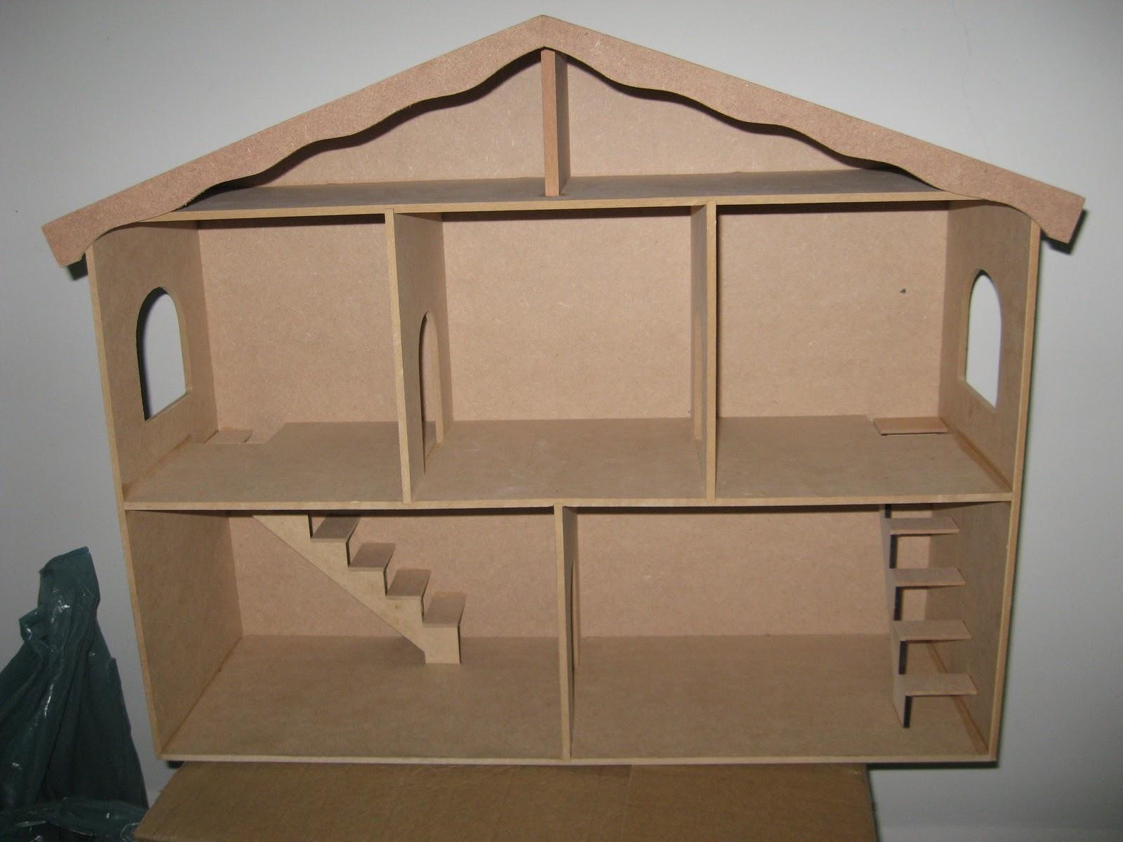 Lembranças Artesanais: Casa de bonecas relato parcial I #614B31 1600x1200