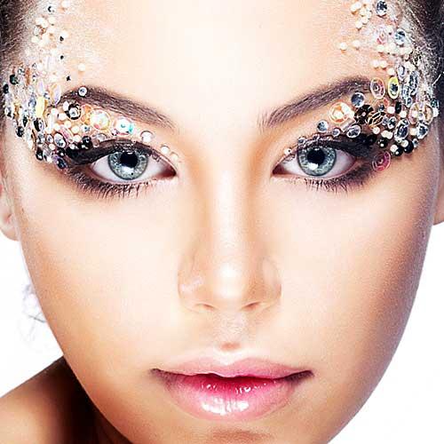 maquillaje ojos bindis carnaval ultima hora
