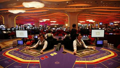 Macau gambling revenue hits all-time monthly high
