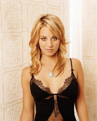 American actress Kaley  Cuoco