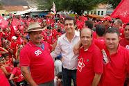 Trabalhando pelo bem de Rio do Pires, Valtinho Defende o Time de Dilma e Rui