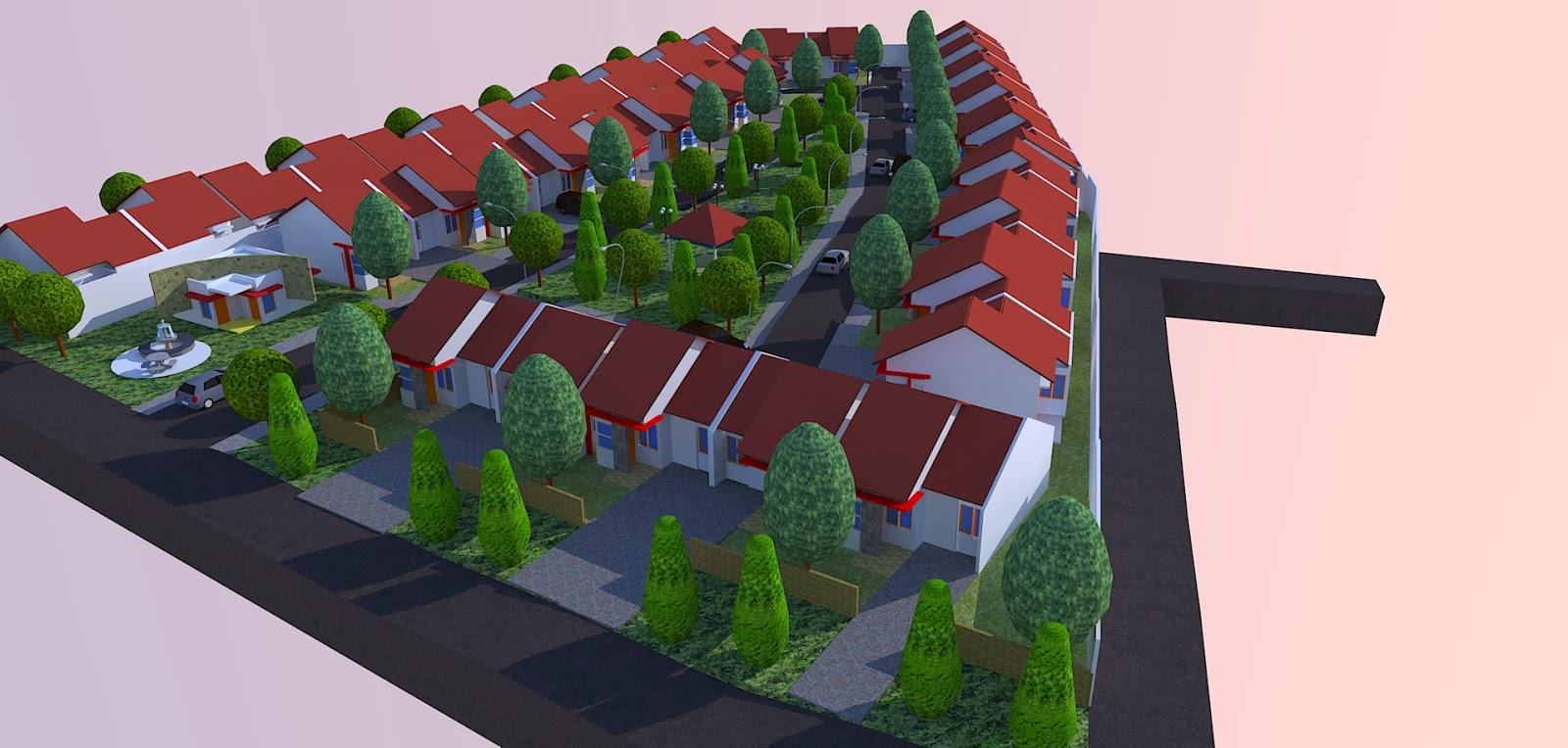 Site Plan Taman
