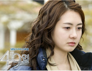 com hairpin and hair style of yi yo won in korea drama 49 days