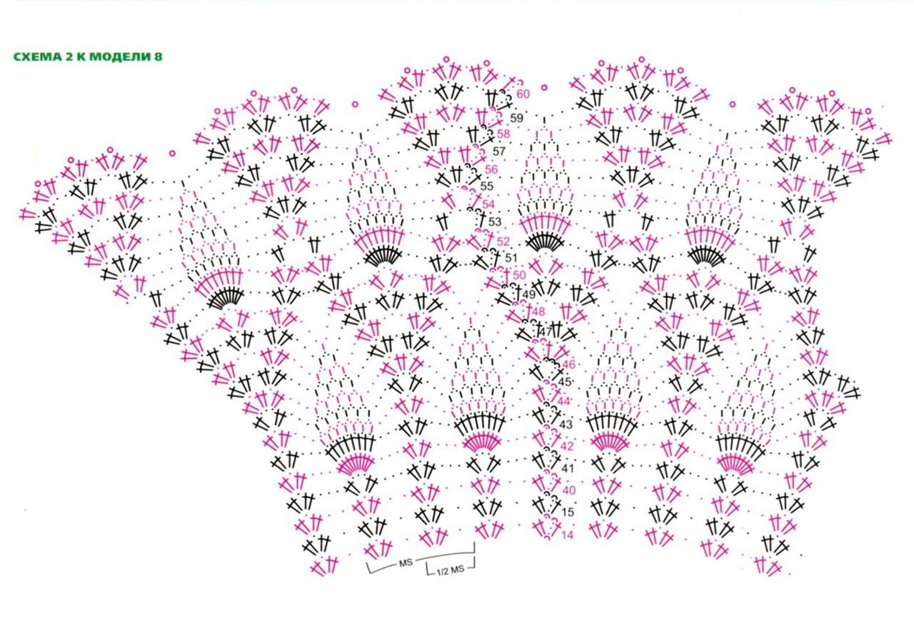 Несколько летних платьев крючком. 56634
