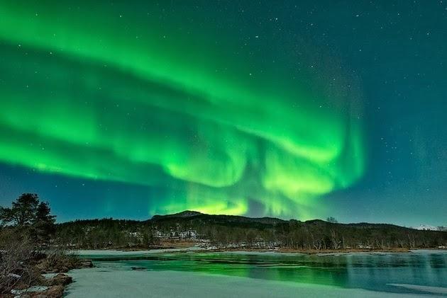AURORA BOREAL, 10 DE ENERO 2014 - Troms, Norway