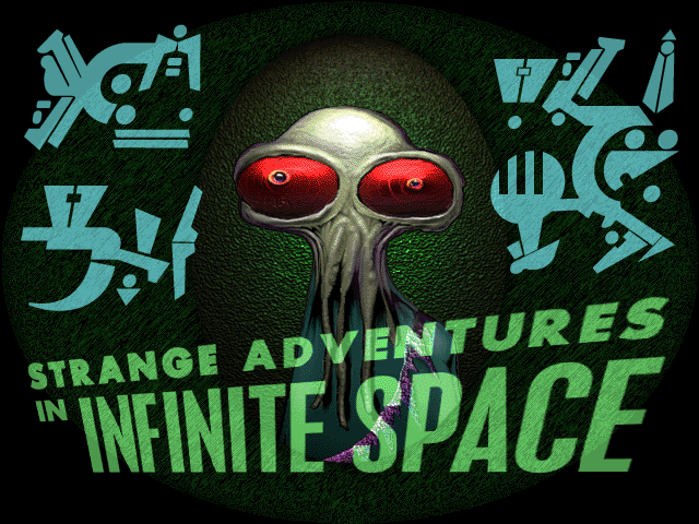 Strange Adventures in Infinite Space title screen