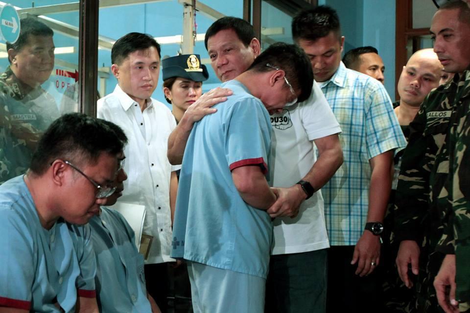 The President Visited V. LUNA Medical Center
