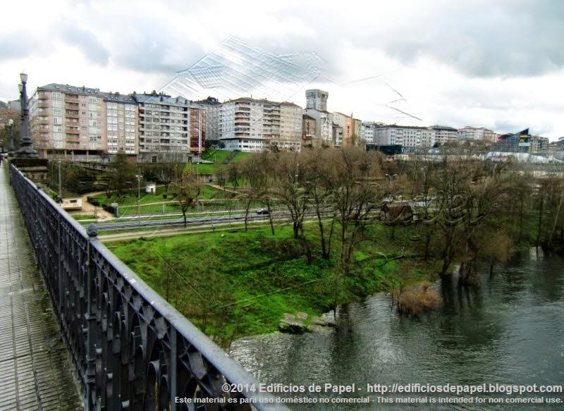 Desde el Puente Nuevo de Ourense