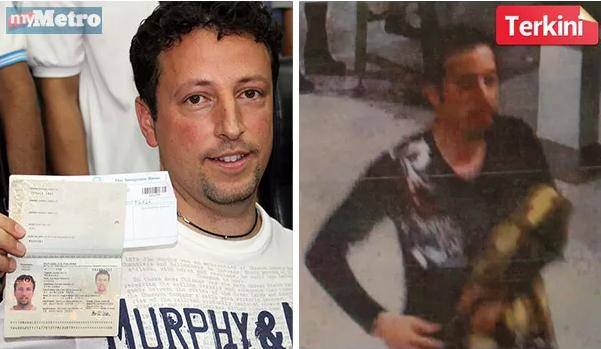 LUIGI Maraldi, warga Itali (kiri), Delavar Seyed Mohammad Reza, warga Iran (kanan).