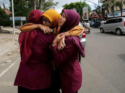 imagenes del terremoto hoy en indonesia