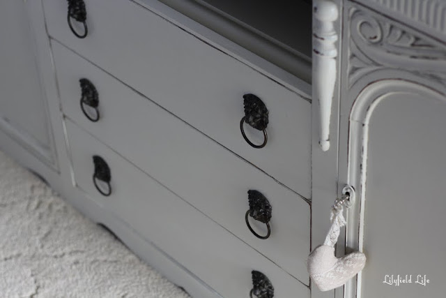 French style Tv cabinet by Lilyfield Life