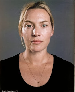 Kate Winslet pose sans maquillage