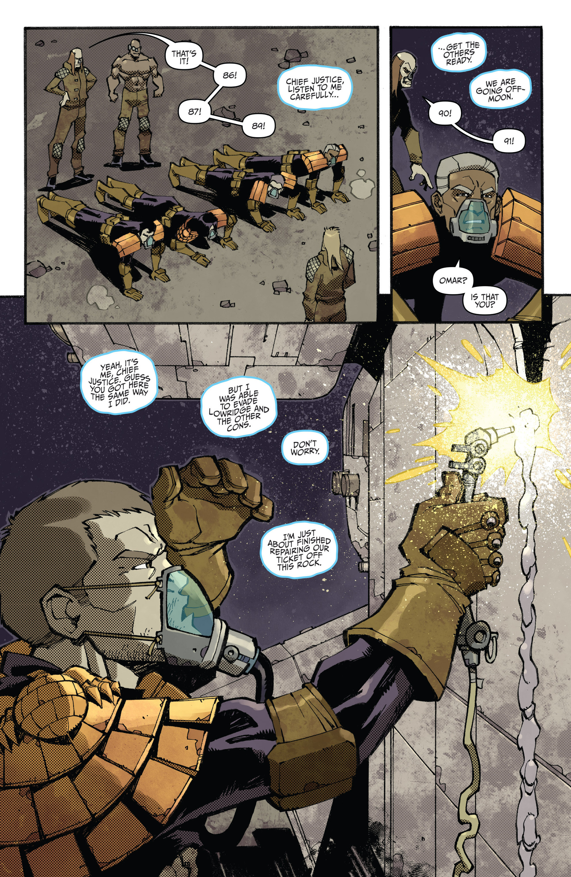 Read online Judge Dredd (2012) comic -  Issue #23 - 16