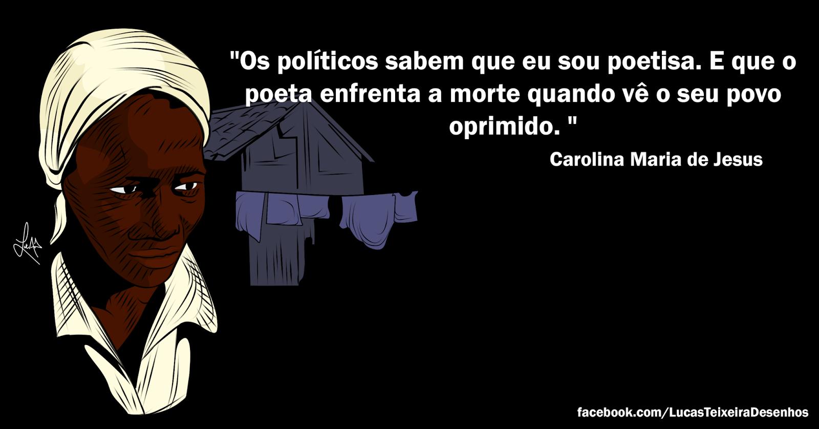 Lucas Teixeira Artes Carolina Maria De Jesus Ilustração