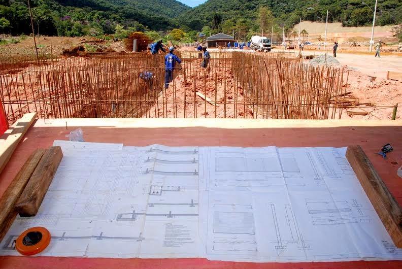 Construção da Estação de Tratamento de Esgoto está em andamento