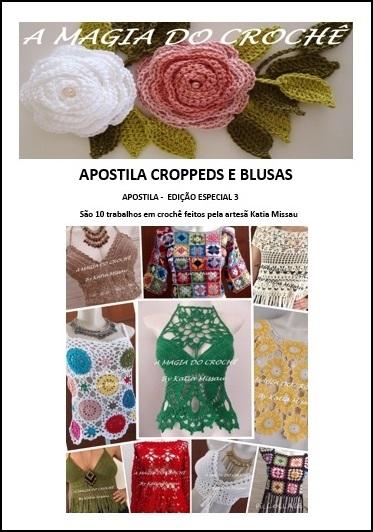 LANÇAMENTO!!! Apostila Edição Especial 3: Croppeds e Blusas - Livro