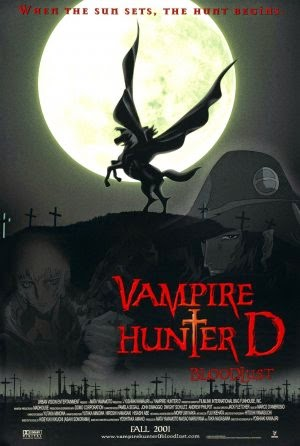 Vampire Hunter D: Bloodlust 2000 poster