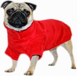 Fleece Dog Coats, Dog Clothing, Dogs, Warm, Winter
