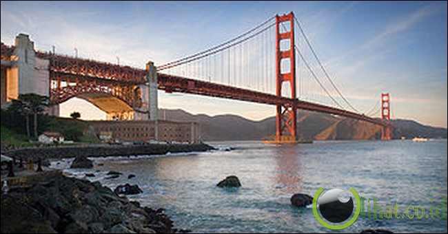 Jembatan Golden Gate, Kota San Fransisco, Amerika Serikat