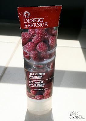 après shampoing framboise desert essence