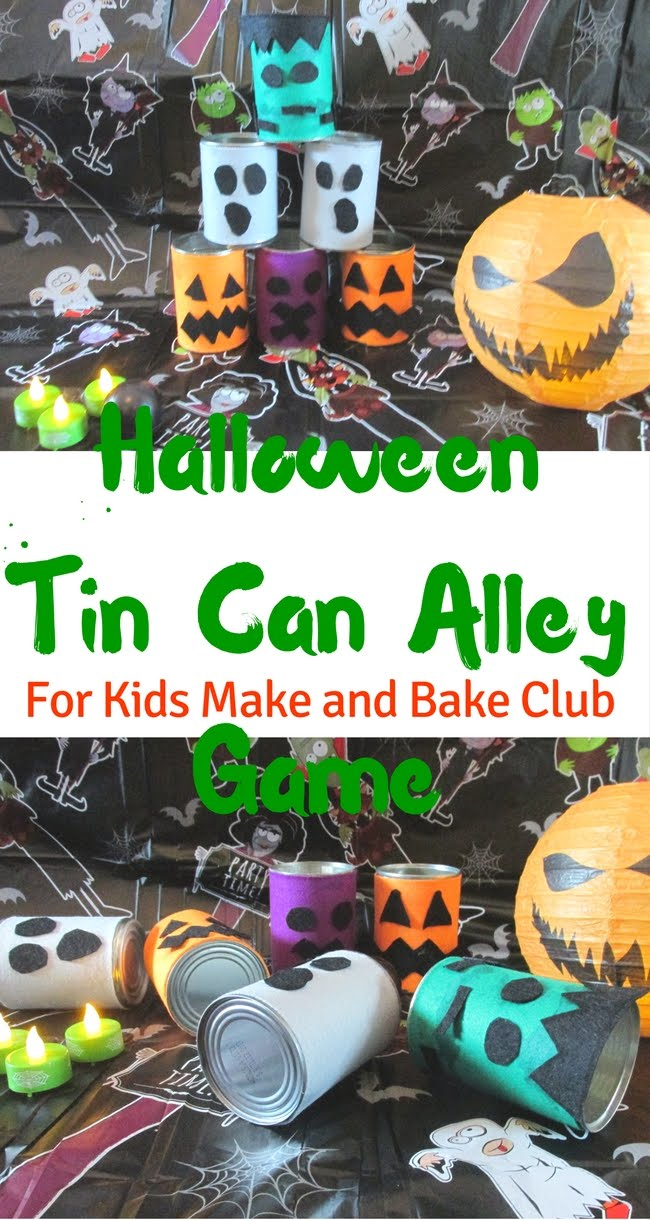 3 Princesses and 1 Dude!: Halloween Tin Can Alley