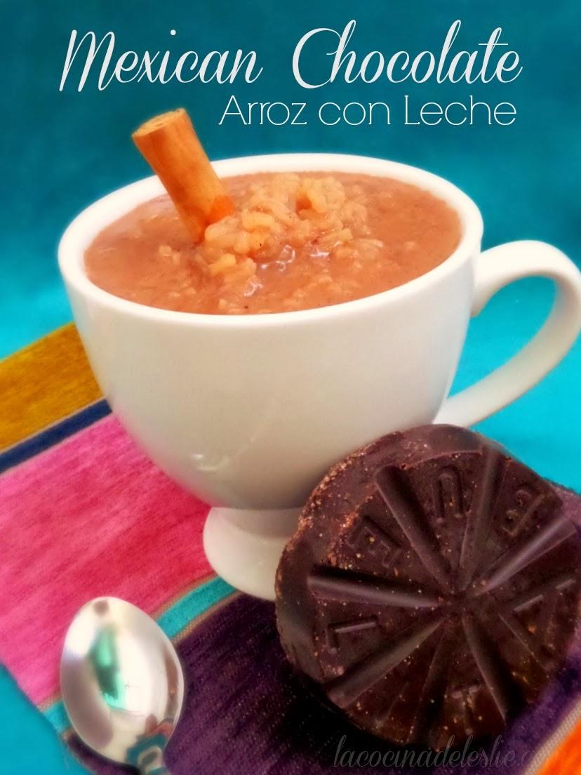 Mexican Chocolate Arroz con Leche - lacocinadeleslie.com