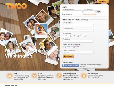 Twoo website