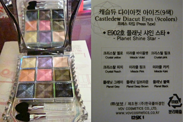 VOV Castledew Eyeshadow BE902 (Planet Shine Star)
