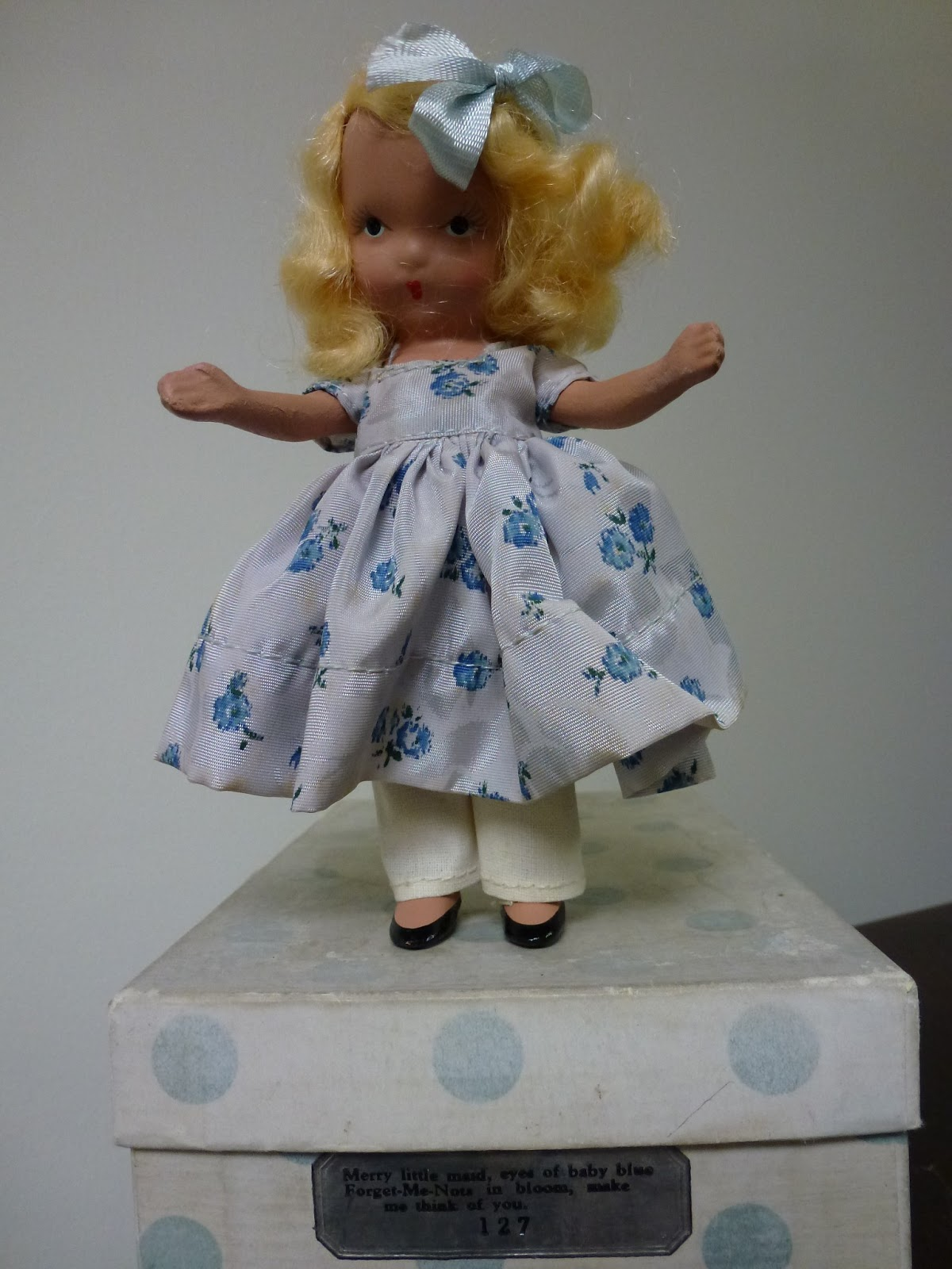 Nancy ann storybook dolls storybook series 127 quot merry little maid