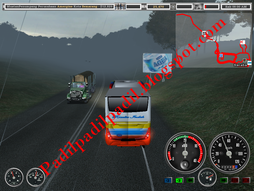 Download 18 Wheels of Steel Haulin + Mod Versi Indonesia