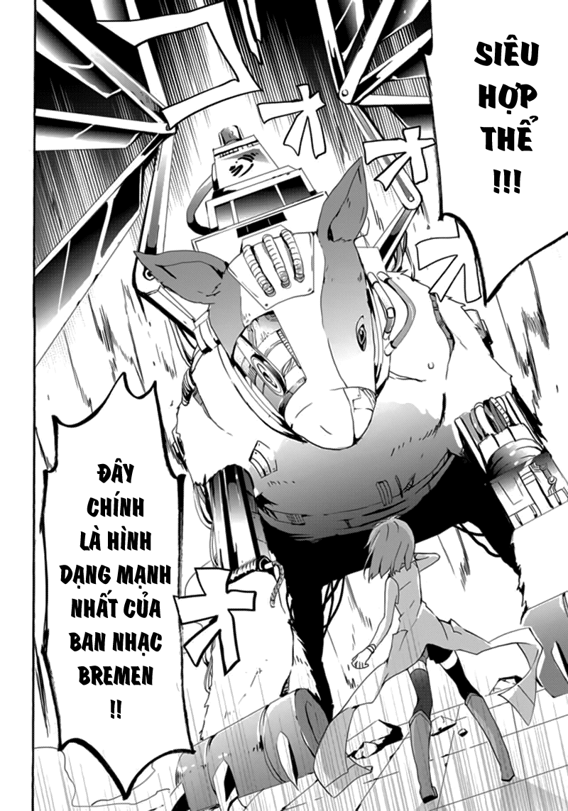 Mondaiji-tachi ga Isekai kara Kuru sou desu yo? Z chap 8 - Trang 11