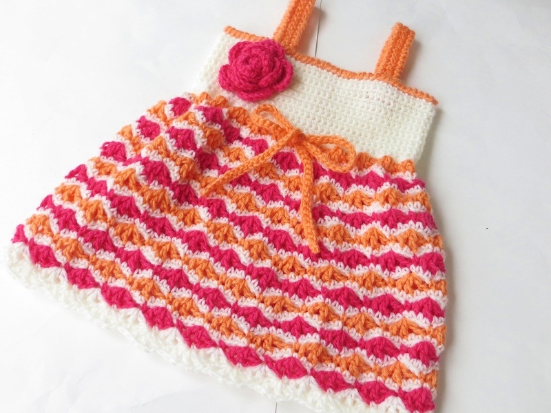Crochet Patterns Dresses For Babies : Crochet Dreamz: Olivia Dress, Crochet Pattern for Baby ...