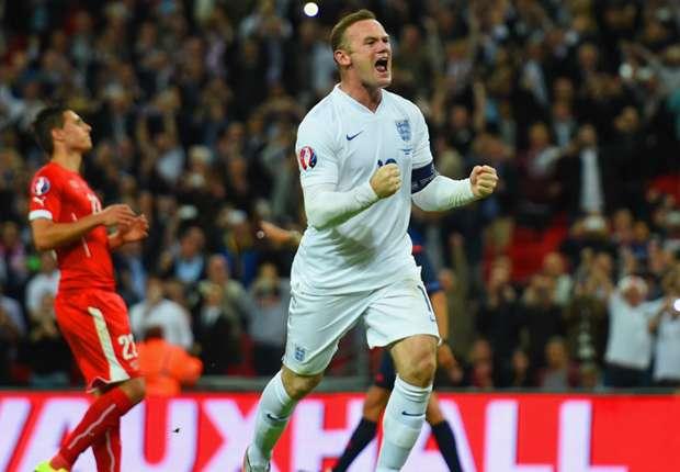 Tiga Gol Warnai Pertandingan Perpisahan Rooney