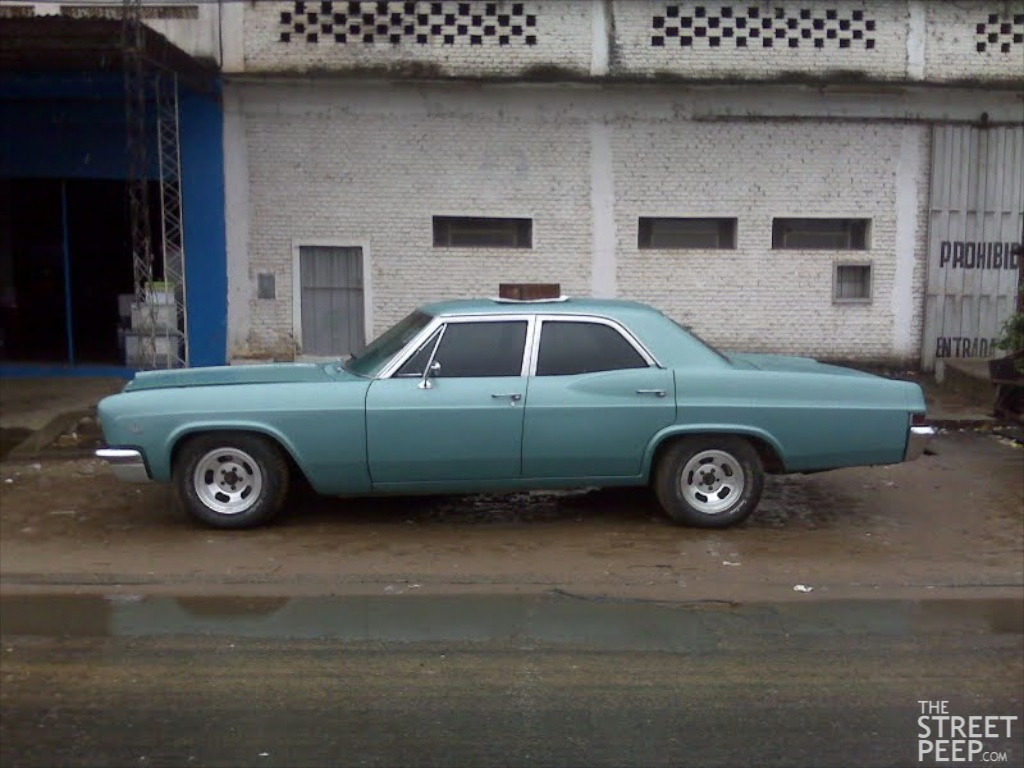The Street Peep Peepin In Paraguay 1966 Chevrolet Impala Chevy 2 Door