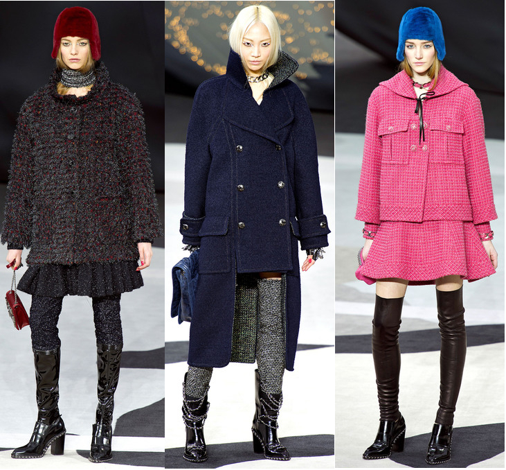 Runway to Style Fashion Blog: Chanel Fall 2013 Coats
