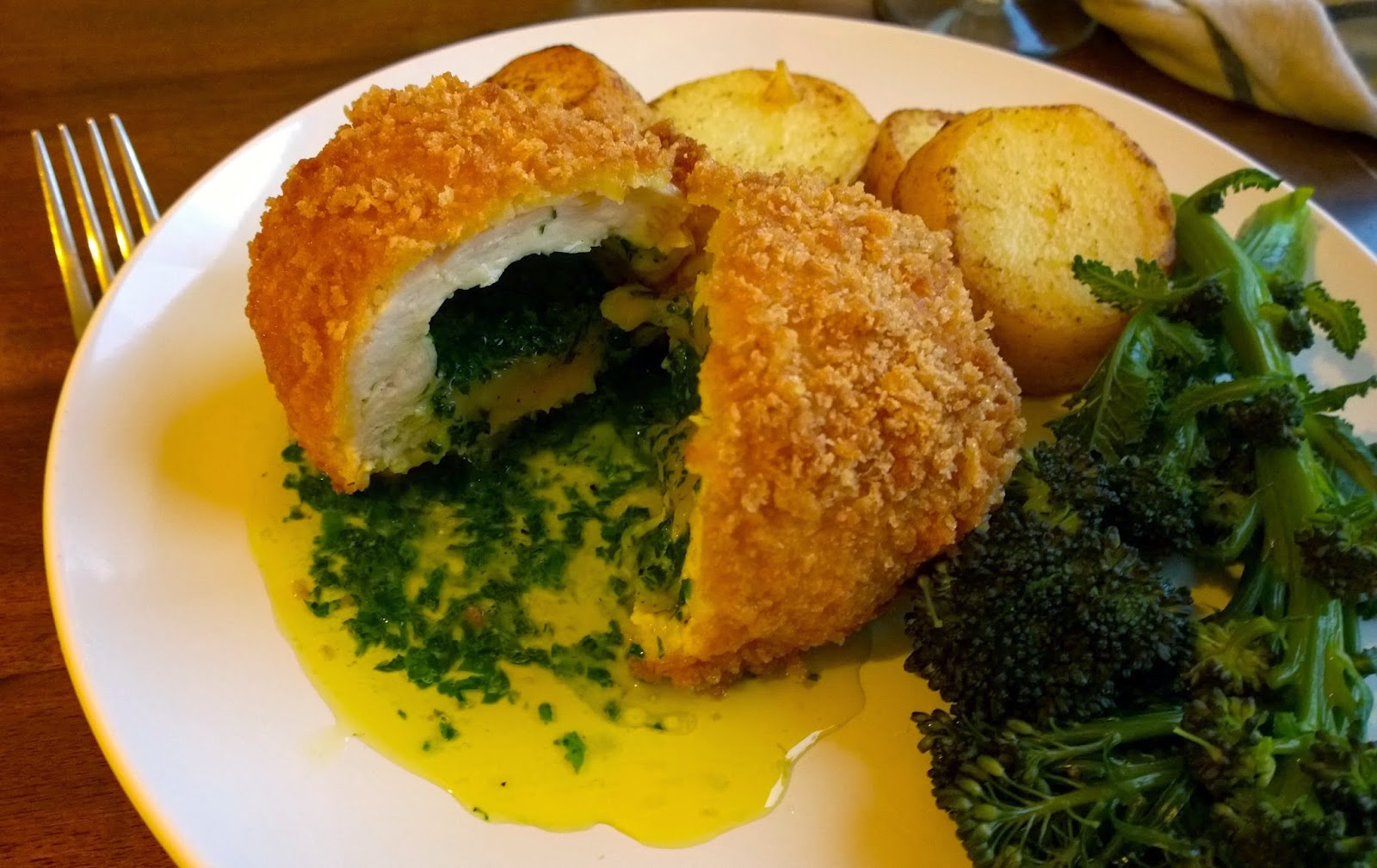 Food Urchin: Teenage Kicks Against Chicken Kiev (with A Wild Garlic Recipe  On The Side)