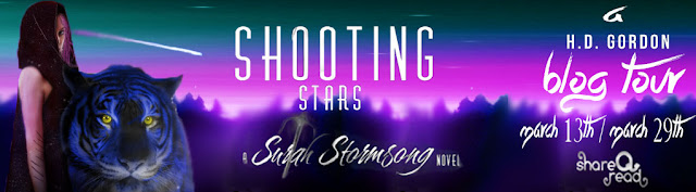 Shooting Stars by H. D. Gordon Blog Tour