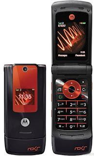 Motorola ROKR W6  flap type simple phone